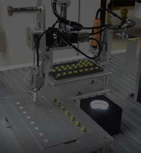 Glue Robotic Machine
